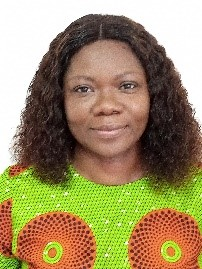 This picture show Dr. Efua Esaaba Agyire-Tettey