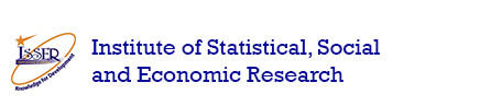 picture of the logo of the institute of statistical, socal and economic research
