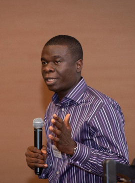 This picture shows Dr. Kwabena Frimpong-Manso.