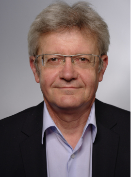 This picture shows doctor johannes schaedler-director of zpe